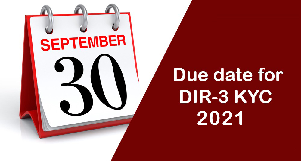 Due Date KYC 2021